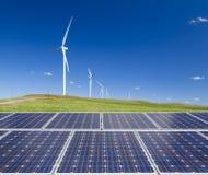 Duurzame schone energie Stock Afbeelding