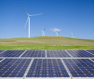 Duurzame schone energie Royalty-vrije Stock Foto's