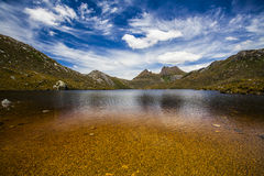 Duva sjö, vagga Mt. Arkivbild