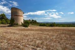 Duvahus i Luberon - Vaucluse - Frankrike Arkivbilder