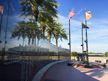 Duval County Veterans Memorial Wall Royalty Free Stock Images