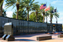 Duval County Veterans Memorial Wall Stock Photos