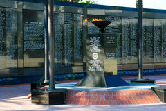 Duval County Veterans Memorial Wall Royalty Free Stock Photography