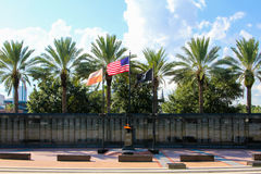 Duval County Veterans Memorial Wall Royalty Free Stock Photo