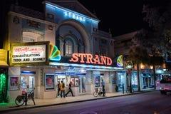 Duval gata i Key West Arkivfoto
