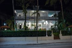 Duval gata i Key West Royaltyfri Foto