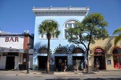Duval gata i Key West, Florida royaltyfria foton