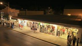 Duval-Straße Key West stock footage