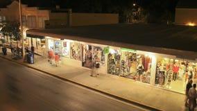 Duval-Straße Key West stock video footage