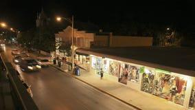 Duval-Straße Key West stock video