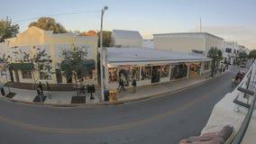 Duval Street Key West Fischeye Stock Photo