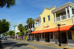 Duval Street in Key West, Florida Stock Photos