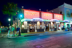 Duval street in Key West Stock Photography