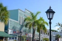 Duval ulica w Key West, Floryda fotografia stock
