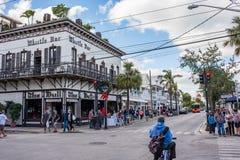 duval västra florida key gata Fotografering för Bildbyråer