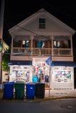 duval västra florida key gata Royaltyfri Bild
