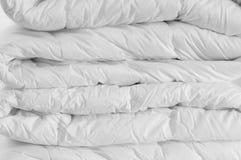 Duvet bianco Fotografie Stock