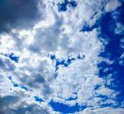 Duvet et ciel bleu Image stock