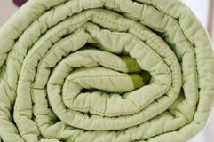 Duvet roll Stock Photo