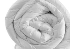Duvet roll Royalty Free Stock Photography