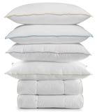 duvets απομονωμένα μαξιλάρια Στοκ εικόνες με δικαίωμα ελεύθερης χρήσης