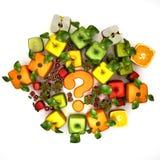 Duvidoso, fruta Foto de Stock