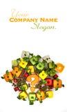 Duvidoso, fruta Imagens de Stock Royalty Free