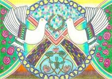Duvor av fred Royaltyfri Fotografi