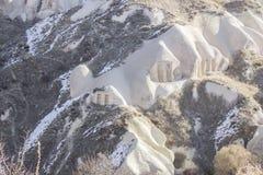 Duvslag i bergen Royaltyfri Foto
