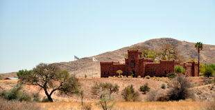 Duwisib城堡 免版税库存照片