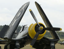 duxford airshow строгает wwii Стоковое Фото