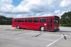 duży autobusowa czerwień Zdjęcia Royalty Free