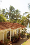 Duży Kukurydzanej wyspy Nikaragua hotelowy kurort morzem karaibskim Fotografia Royalty Free