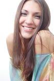 duży uśmiech Fotografia Royalty Free