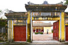 Duyet Thi Gate royalty free stock images