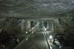 Duzdagh Solankowe kopalnie szpital, Nakhchivan, Azerbejdżan obrazy royalty free