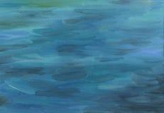 Duzi brushstrokes obraz olejny tekstura naturalne tekstury grafiki projektu fale morskie Zdjęcie Stock