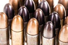 Duzi kaliberów pociski Zdjęcie Stock