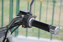 Duzi starzy motocykli/lów składniki, wybierający ostrość punkt Obraz Royalty Free