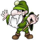 dvärg- green royaltyfri illustrationer
