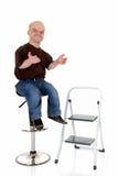 dvärg- liten man Arkivfoto