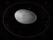 Dvärg- planet Haumea Royaltyfria Bilder
