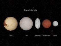 Dvärg- planeter Royaltyfri Fotografi