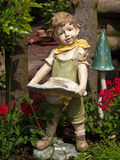 dvärg- trädgårds- gnome Arkivfoton