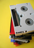 dv微型磁带 免版税库存照片