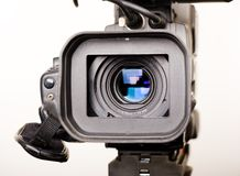 Dv-cam camcorder close-up Stock Images