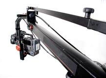 Dv camcorder on the crane Royalty Free Stock Photo
