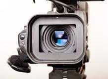 dv de fin de caméscope de came vers le haut Images stock