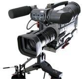 Dv -dv-camcorder op kraan Stock Fotografie