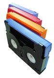 DV Tapes Stock Photo